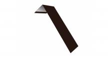 Металлические доборные элементы для фасада в Костроме Планка лобовая/околооконная простая 190х50